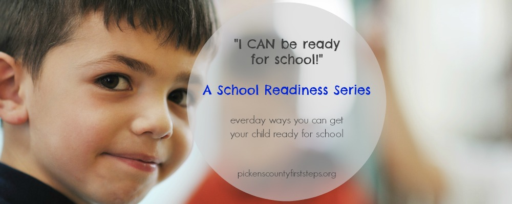 school readiness page header