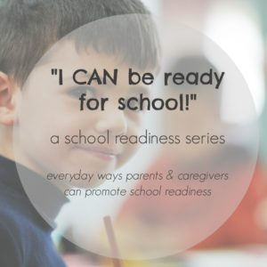 school readiness square photo